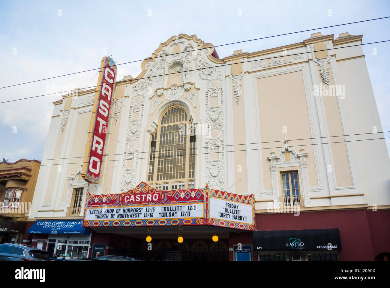 castro movie theater san francisco usa stock photo: 138920122 - alamy