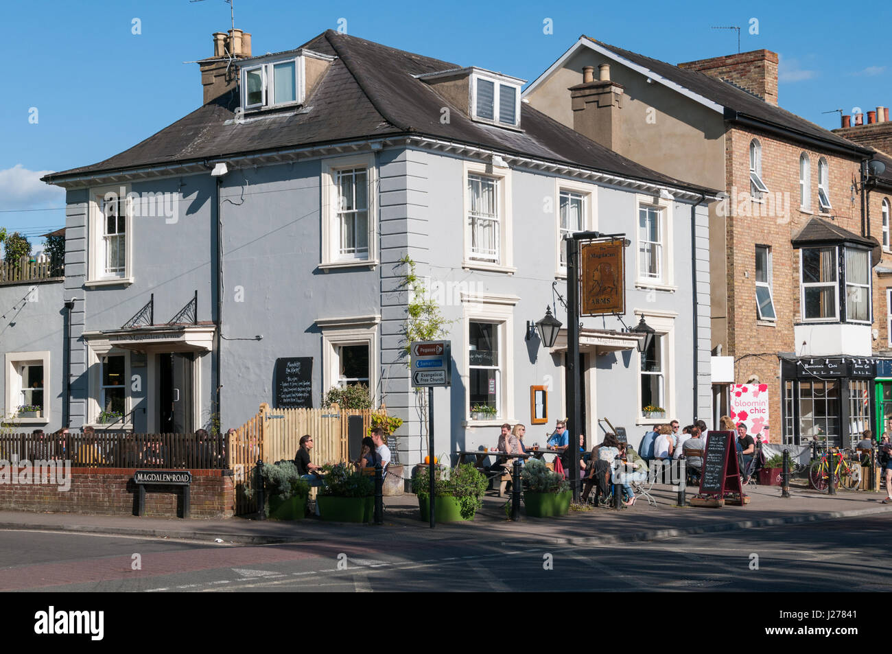 The Magdalen Arms pub, Iffley Road, Oxford, United KingdomStock Photo