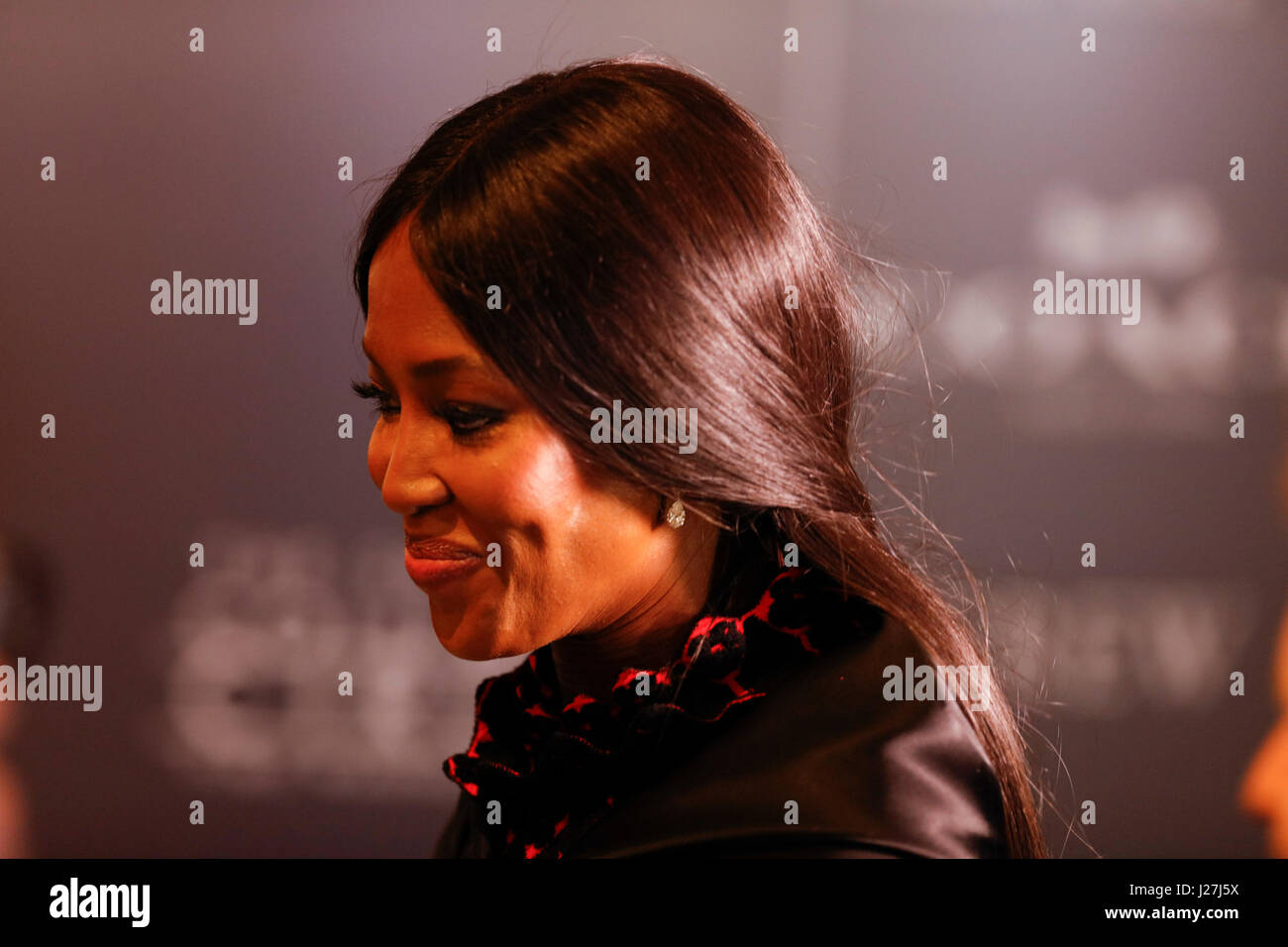 New York, USA. 25th Apr, 2017.  Naomi Campbell attends the 2017 Time 100 Gala at Jazz at Lincoln Center on April - Stock Image
