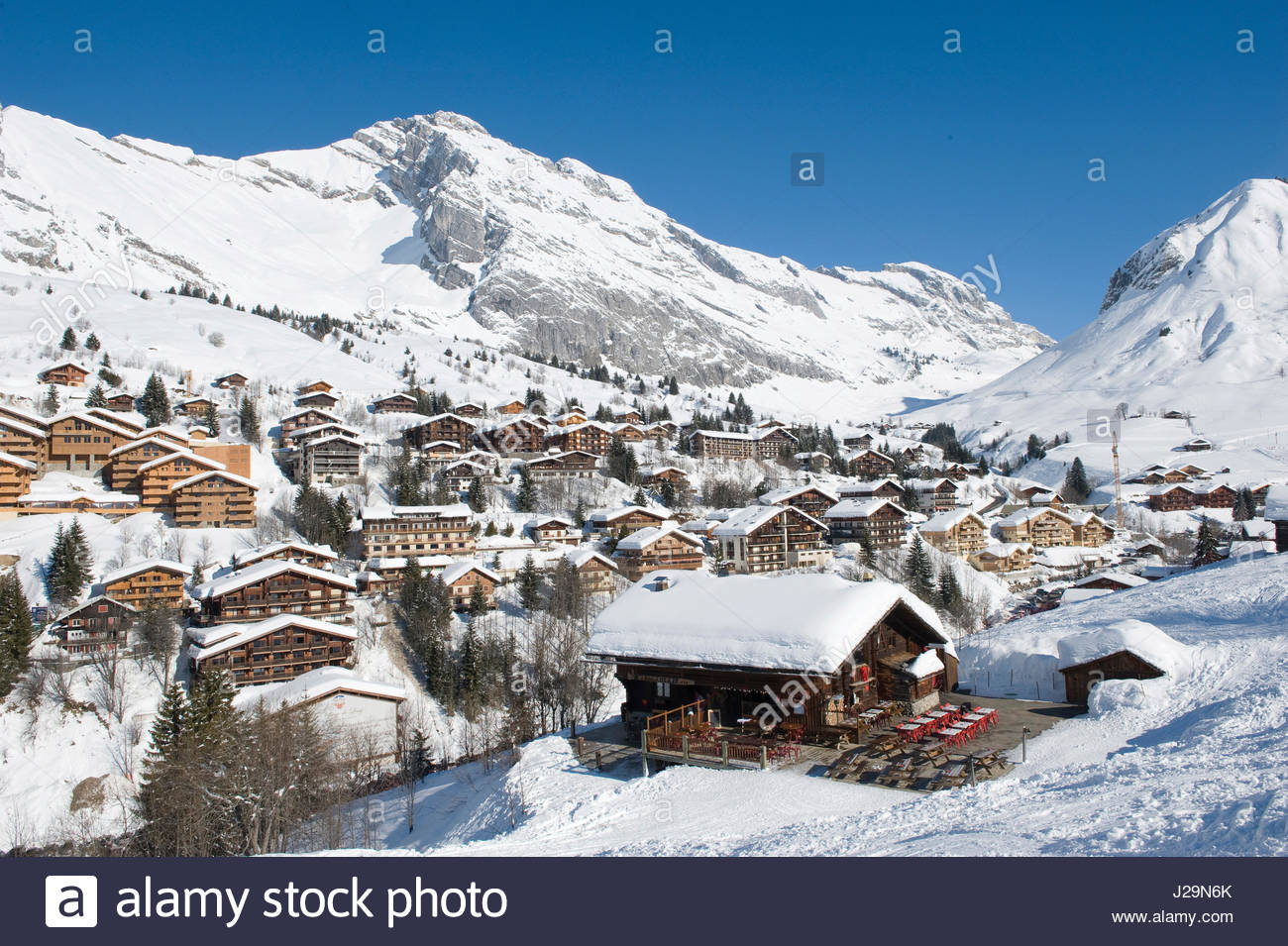france, south-eastern france, le grand bornand, aravis massif, ski