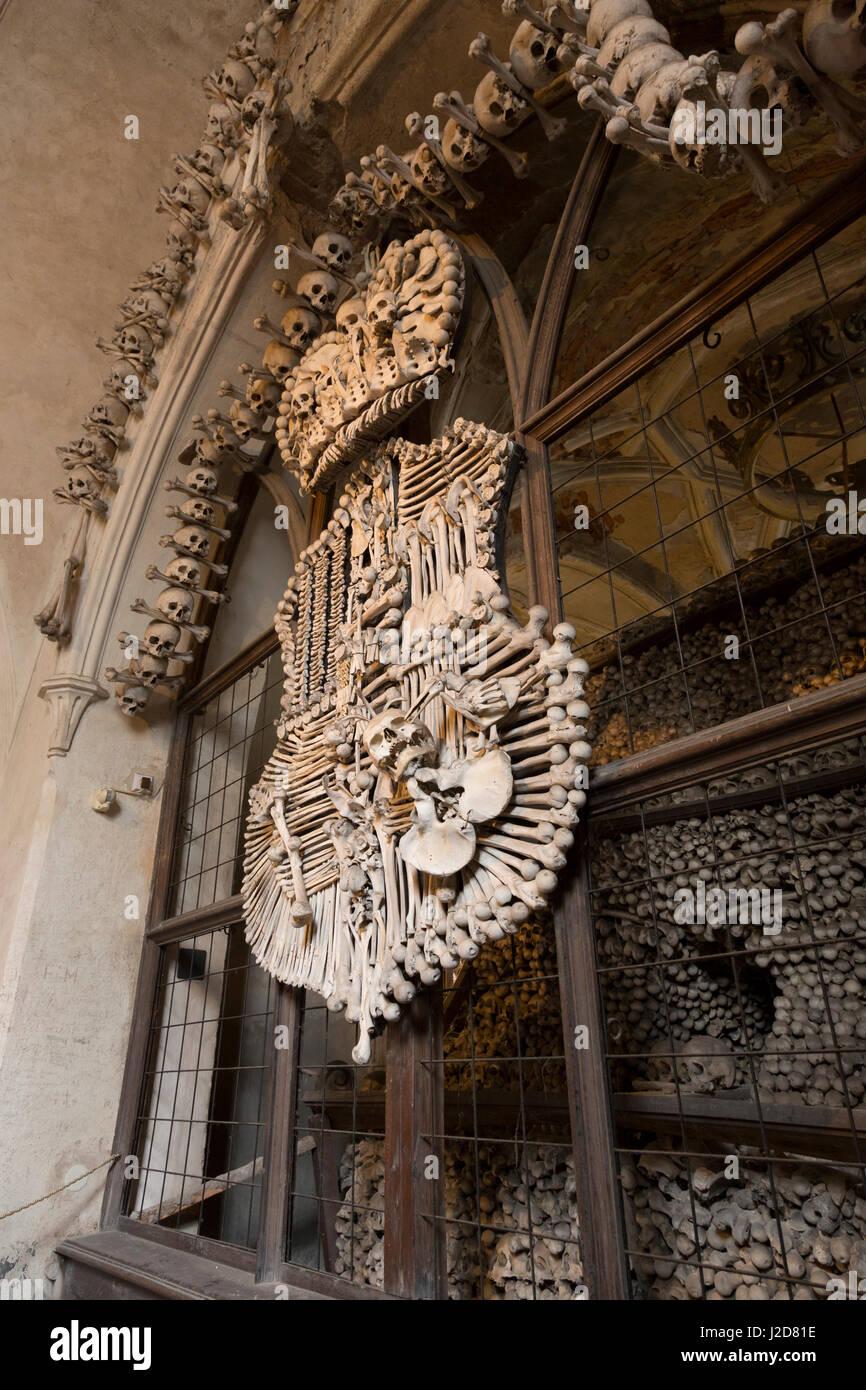 Coat Of Arms Made Human Bones Inside Church Credit As Wendy Kaveney Jaynes Gallery Danitadelimont Com