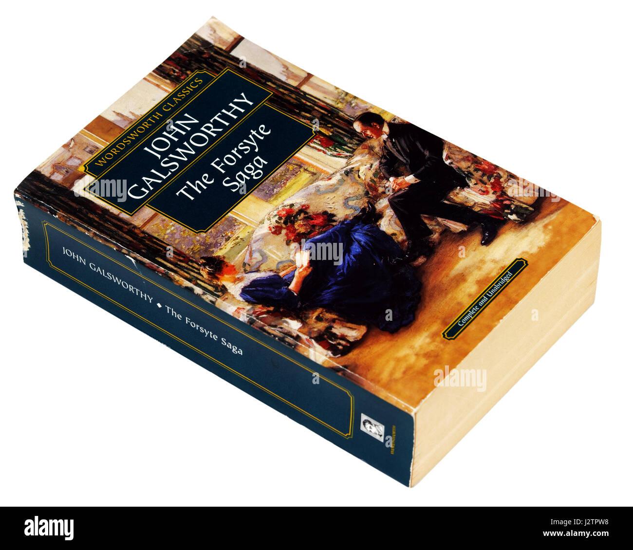 The Forsyte Saga by JohnGalsworthy - Stock Image