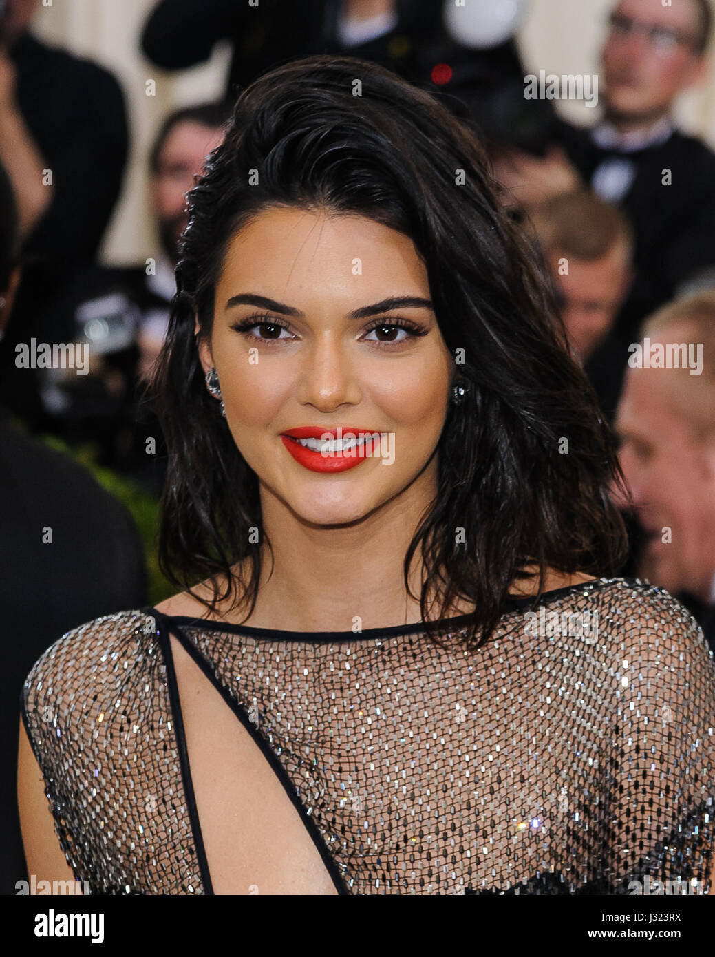 New York, NY, USA. 1st May, 2017. Kendall Jenner. 2017 Metropolitan Museum of Art Costume Institute Benefit Gala - Stock Image