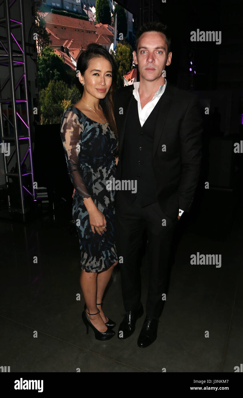 Los Angeles, Ca, USA. 6th May, 2017. Jonathan Rhys Meyers, Mara Lane, At Angel Flight West's Annual Endeavor Awards Stock Photo