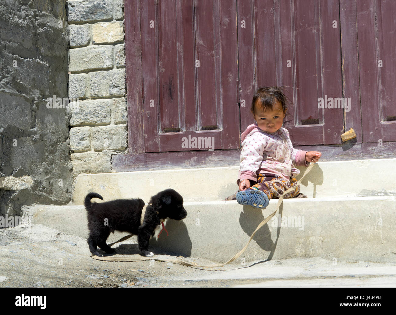 young-nepalese-girl-with-puppy-J4B4PB.jpg