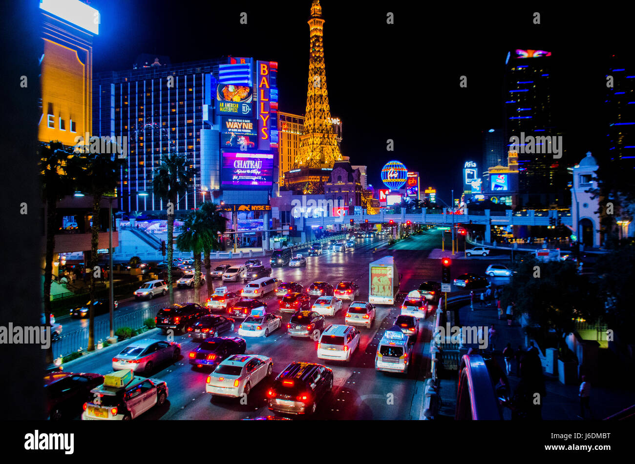 Las Vegas Strip Stock Photo