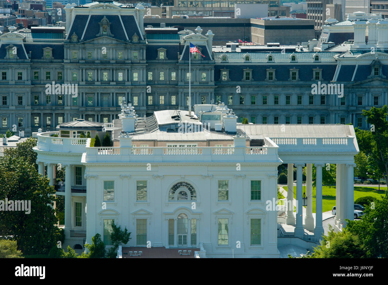 usa-washington-dc-the-white-house-east-view-looking-towards-the-old-J6NYJF.jpg
