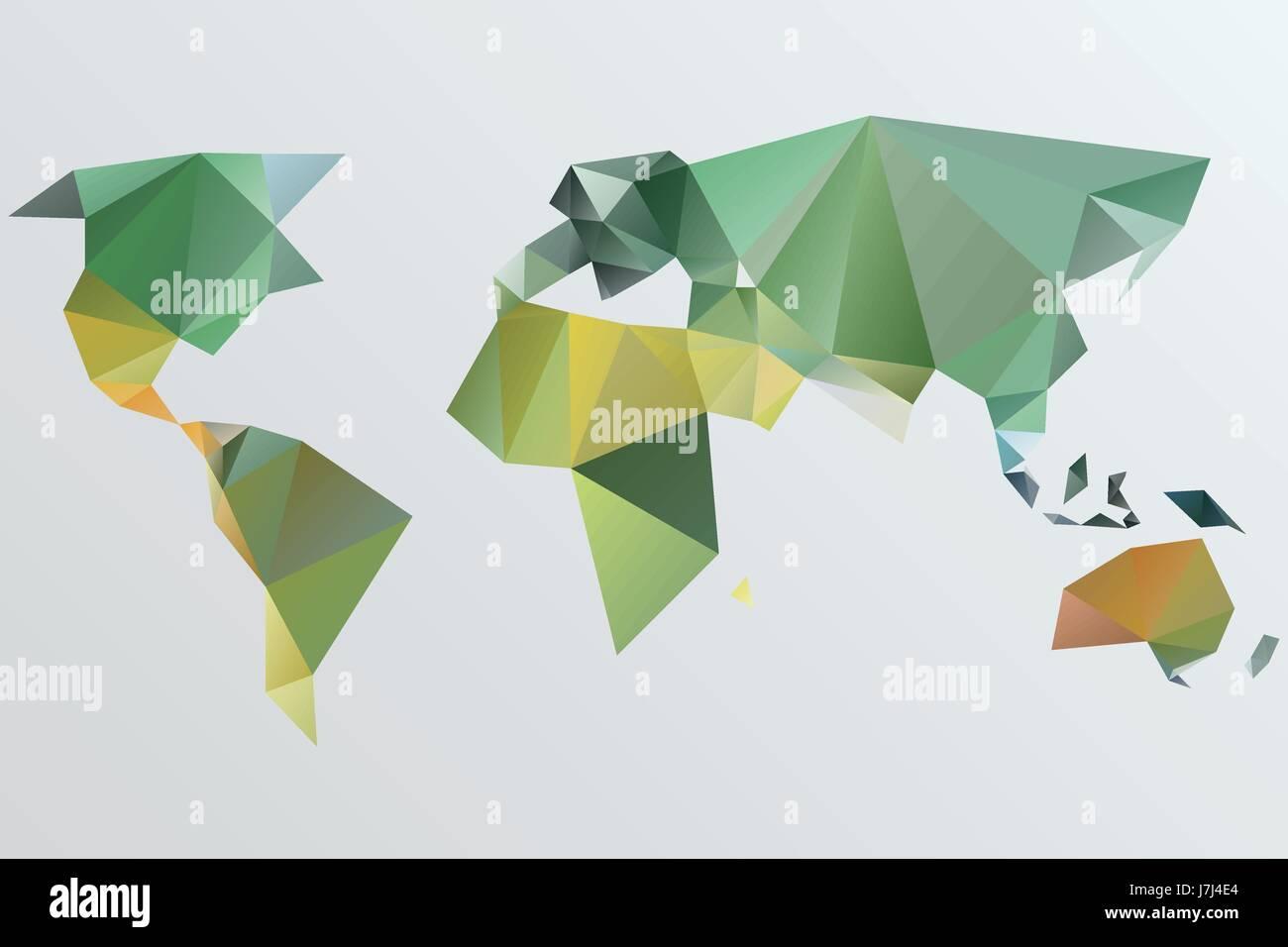 Triangle world map vector illustration stylize world map triangle world map vector illustration stylize world map technology concept gumiabroncs Choice Image