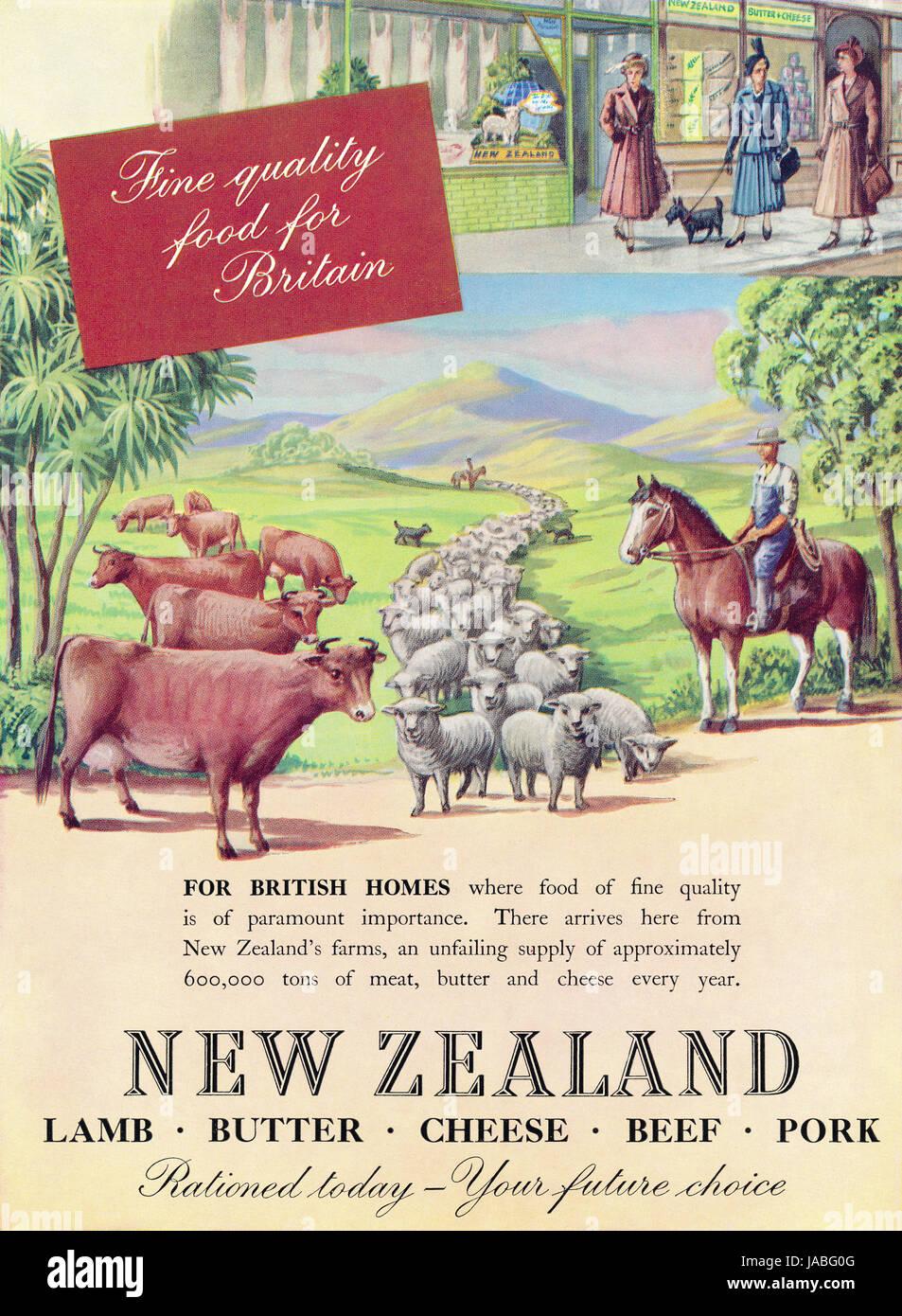 баранина и ветчина из Новой Зеландии