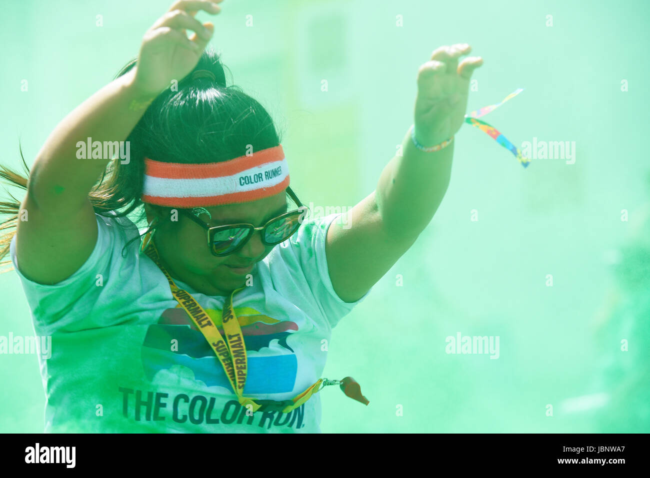 color-run-london-at-wembley-park-girl-prayed-showered-with-coloured-JBNWA7.jpg