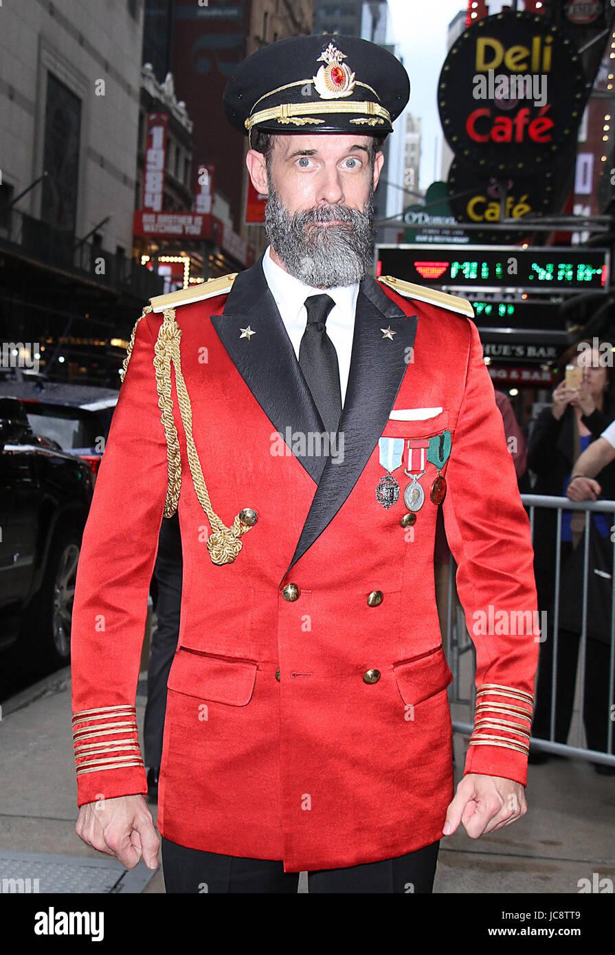 new york ny usa 14th june 2017 captain obvious at good morning