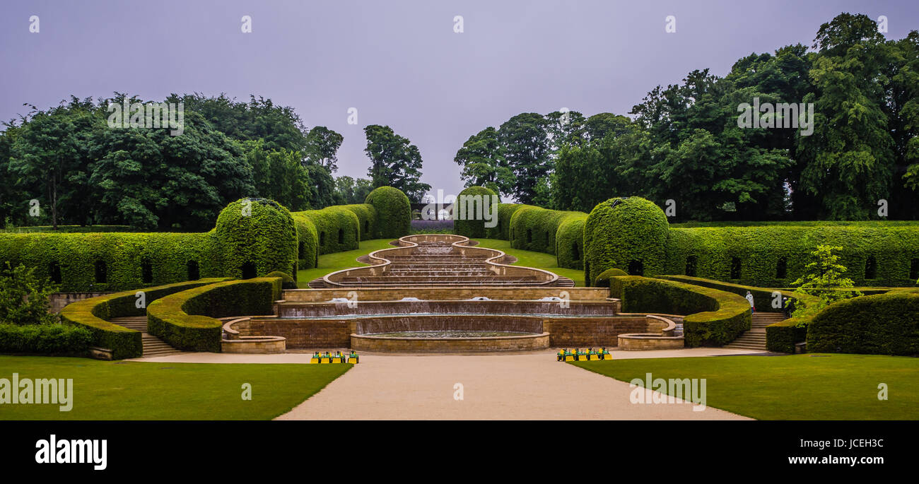 Alnwick gardens Stock Photo