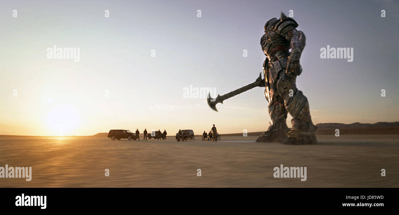 Transformers: The Last Knight (also known as Transformers 5) is an upcoming 2017 American science fiction action - Stock Image