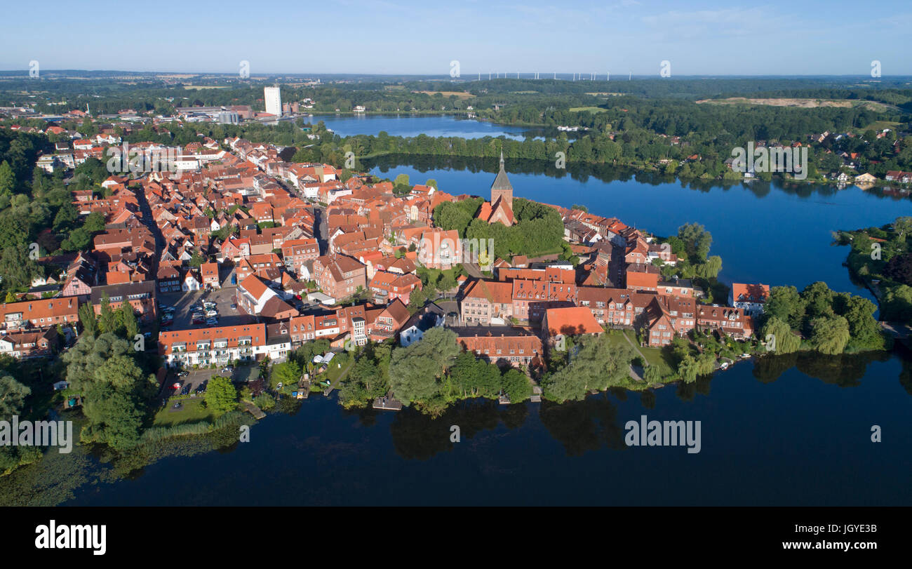 aerial-photo-of-the-old-town-moelln-schl