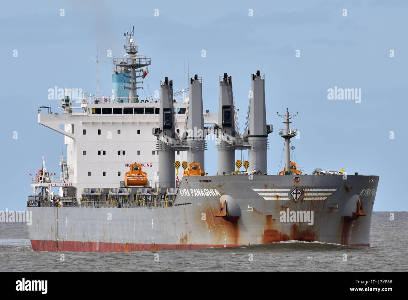 Kyra Panaghia Stock Photo