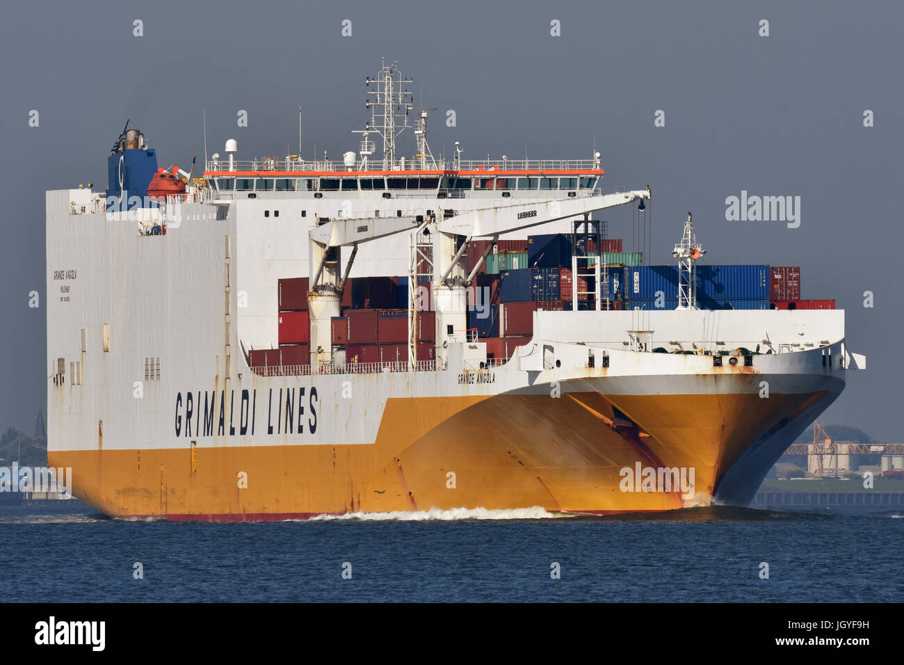 Grande Angola Stock Photo