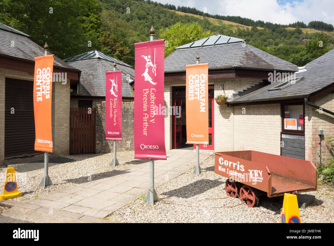 corris craft centre corris stock photos amp corris stock images alamy 1361