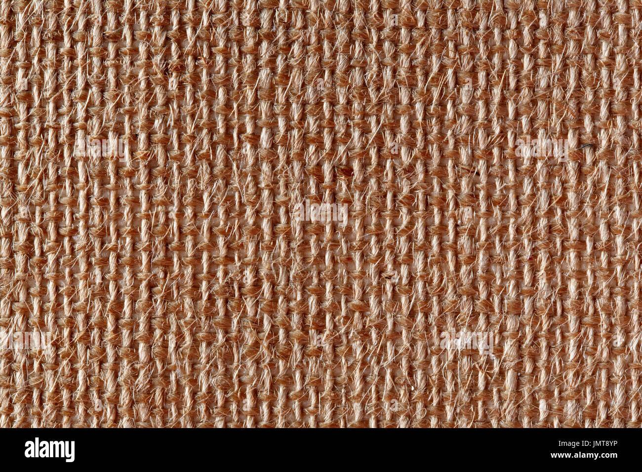 Canvas texture close-up. High resolution photo. - Stock Image
