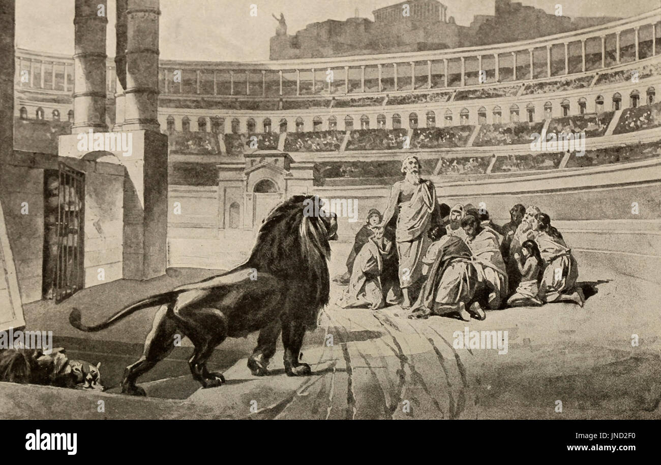 https://c7.alamy.com/comp/JND2F0/christian-martyrs-given-to-the-lions-in-the-colosseum-in-rome-JND2F0.jpg