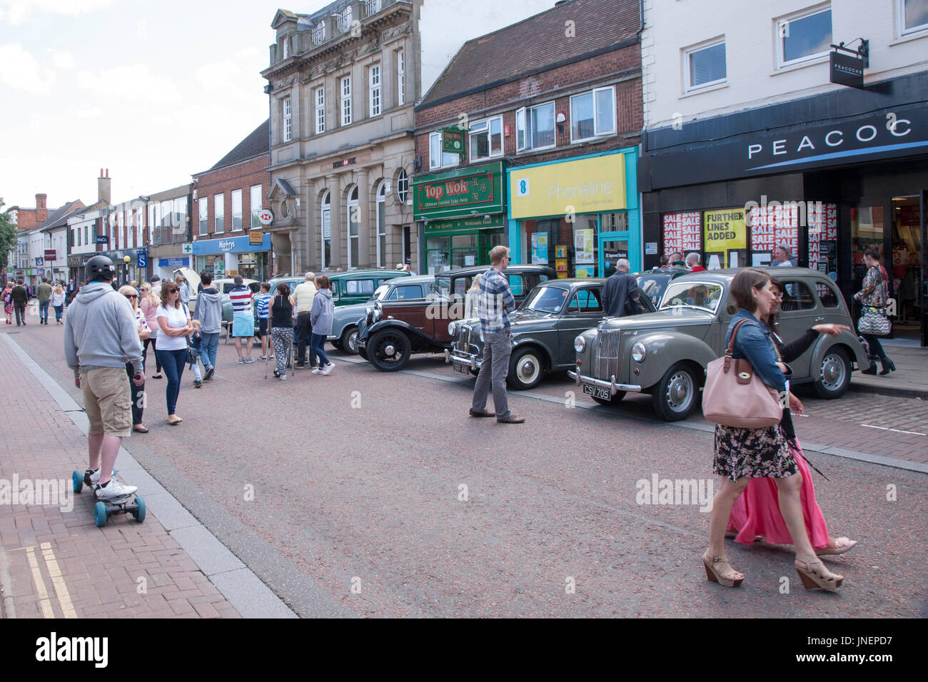 Market Harborough Classic Car Show Leicestershire Th July - Market street car show