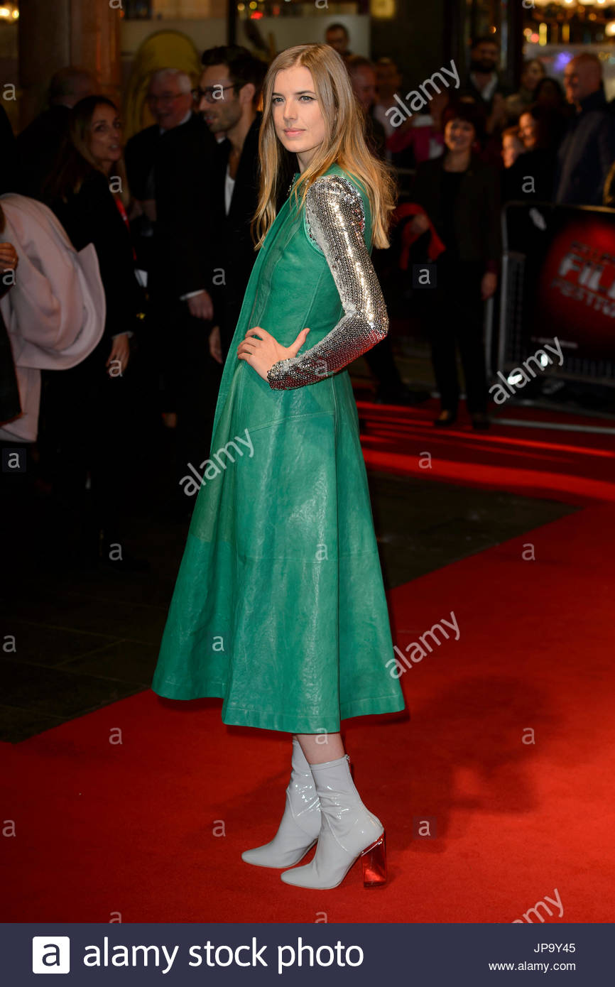Arrivals for the LFF Screening of Sunset Song - Stock Image