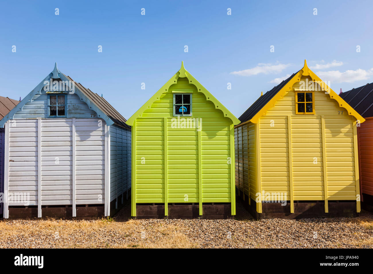 Essex Beach Huts Stock Photos & Essex Beach Huts Stock Images - Alamy