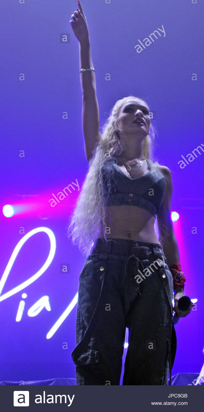 Pia Mia. Pia Mia Perez, known professionally as Pia Mia, is an American singer, songwriter and model from Guam. - Stock Image