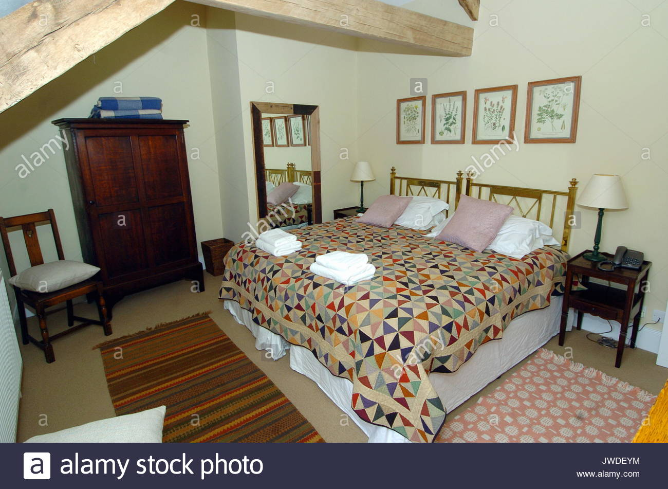 Interior View Of The House Belonging To Prince Charles And Wife Camilla,  The Duchess Of Cornwall. A Converted Old Farm House Was Open For The First  Time To ...