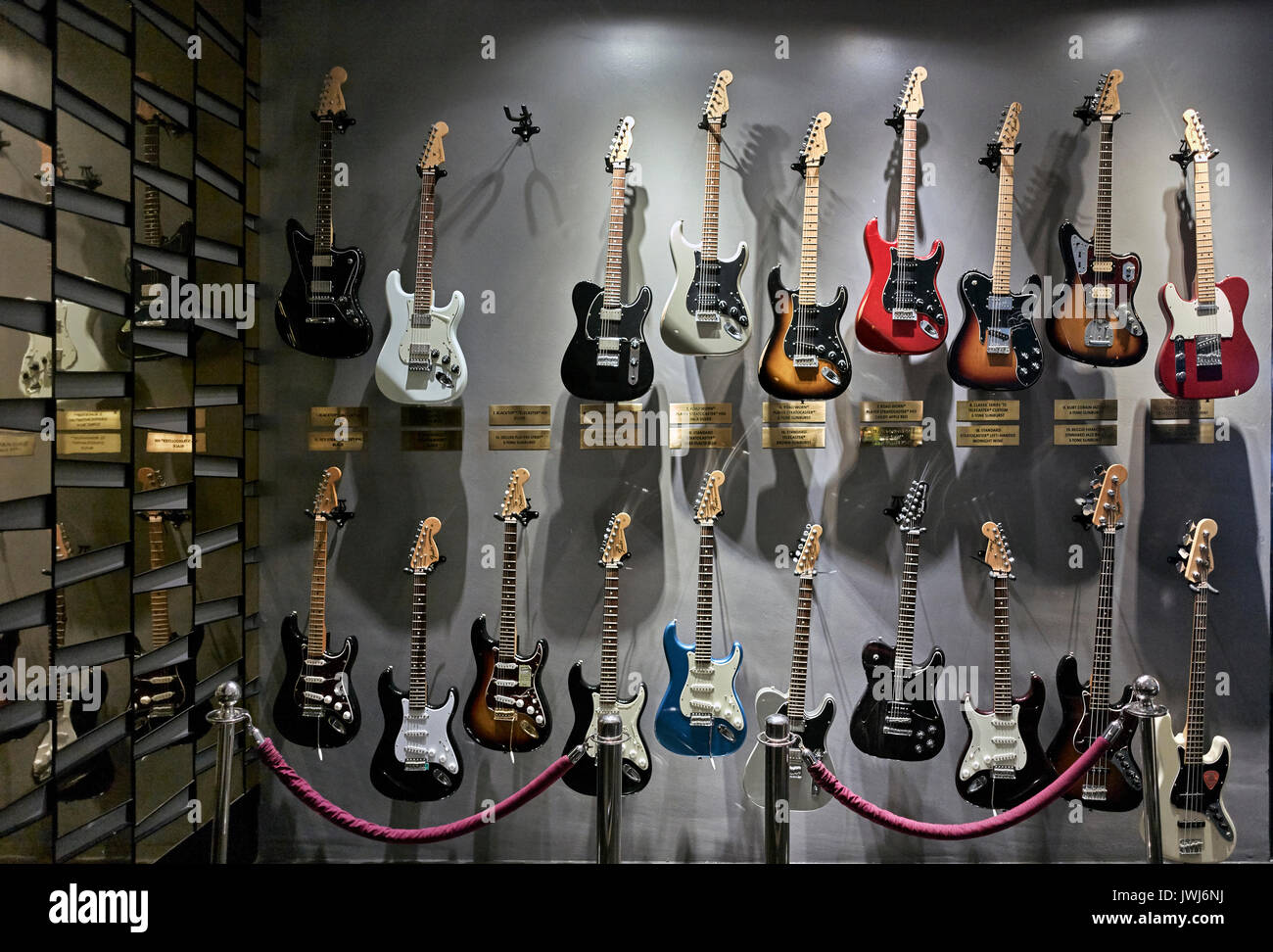 selection-of-electric-guitars-at-the-har