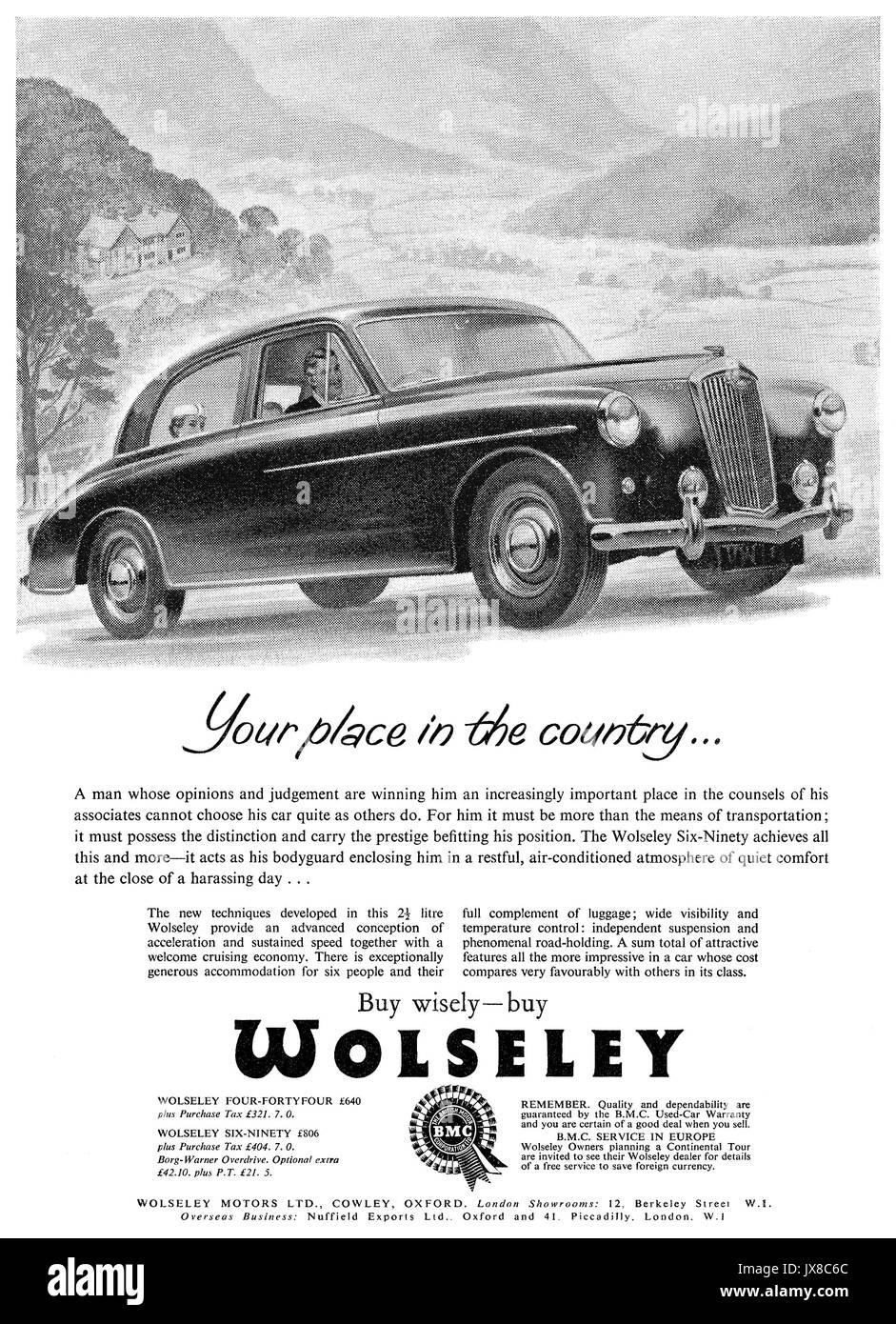 1950s British Car Design Stock Photos & 1950s British Car Design ...