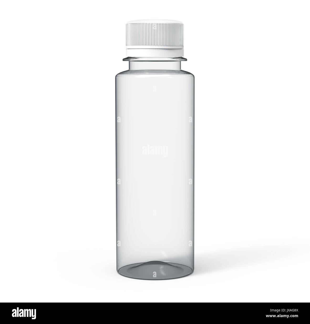 plastic bottle for drinks blank transparent bottle mockup template