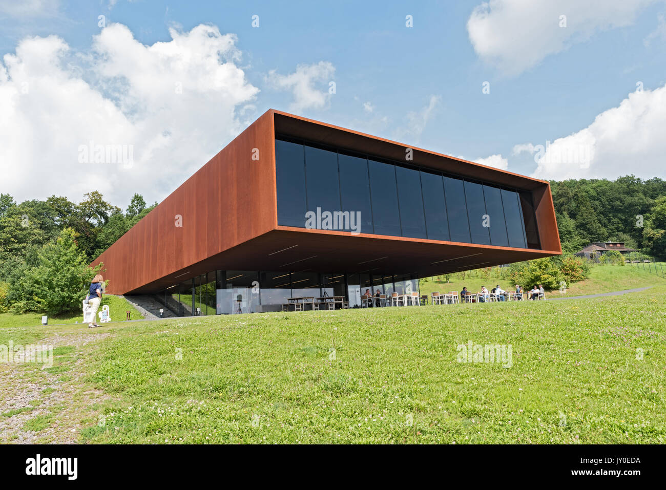 Museum and Archaeological Park Glauberg, Hesse, Germany - Stock Image