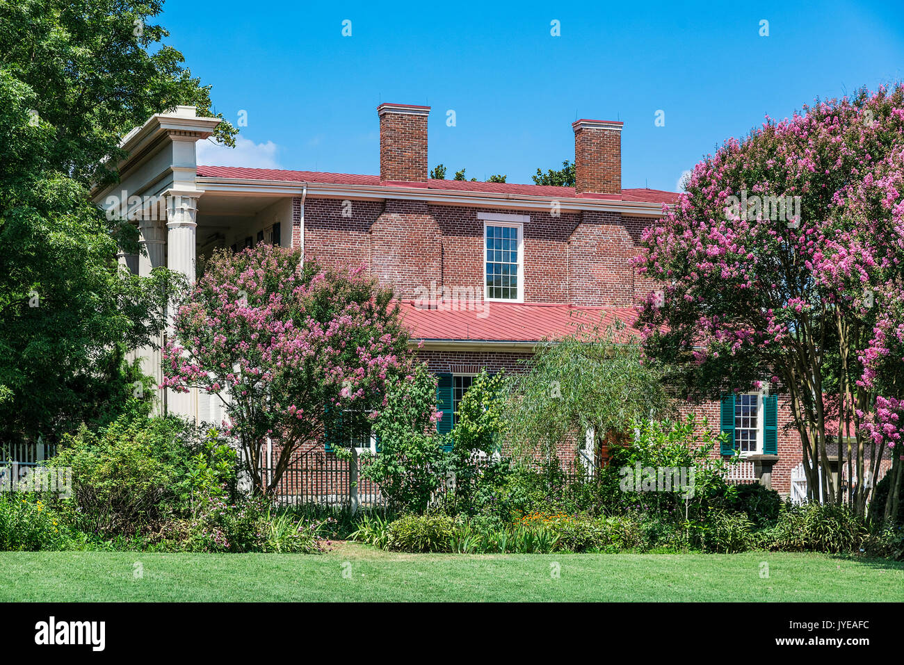 The hermitage andrew jackson home stock photos the for Hermitage house