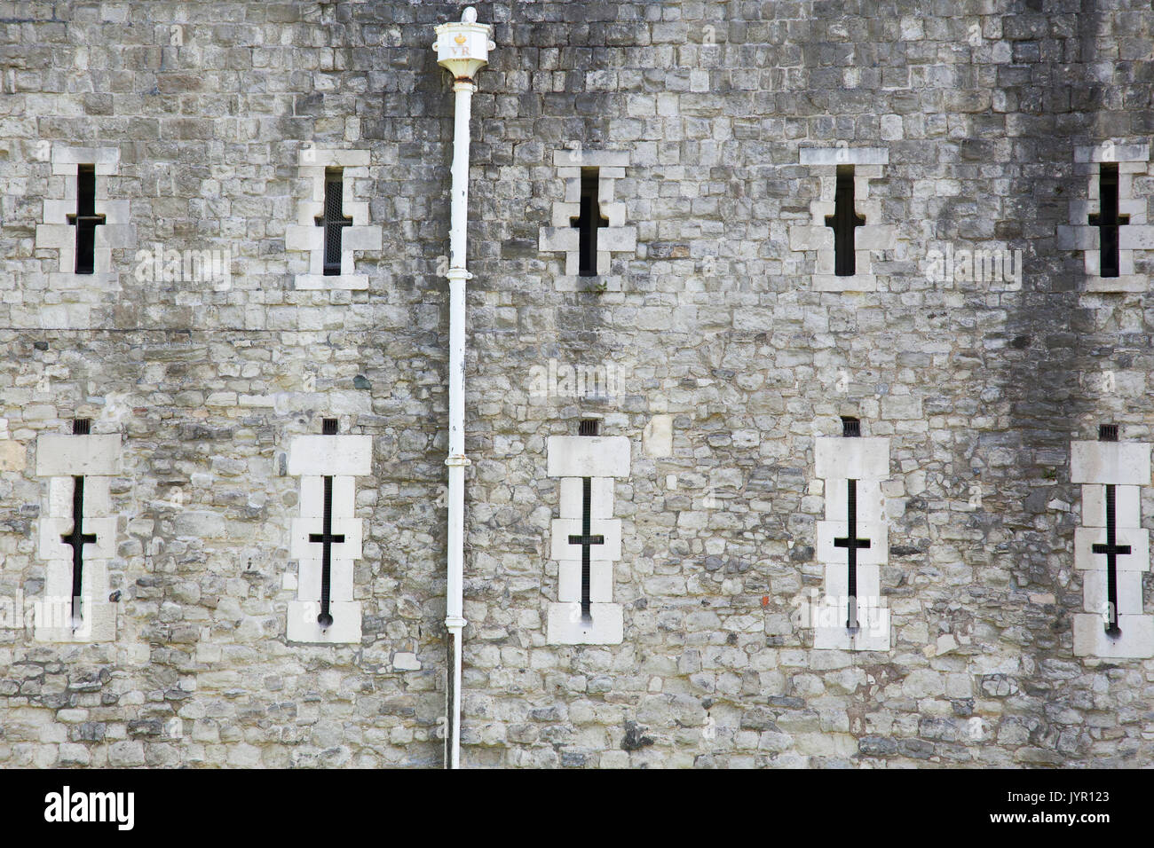 Scenes from The Tower of London, England - Stock Image