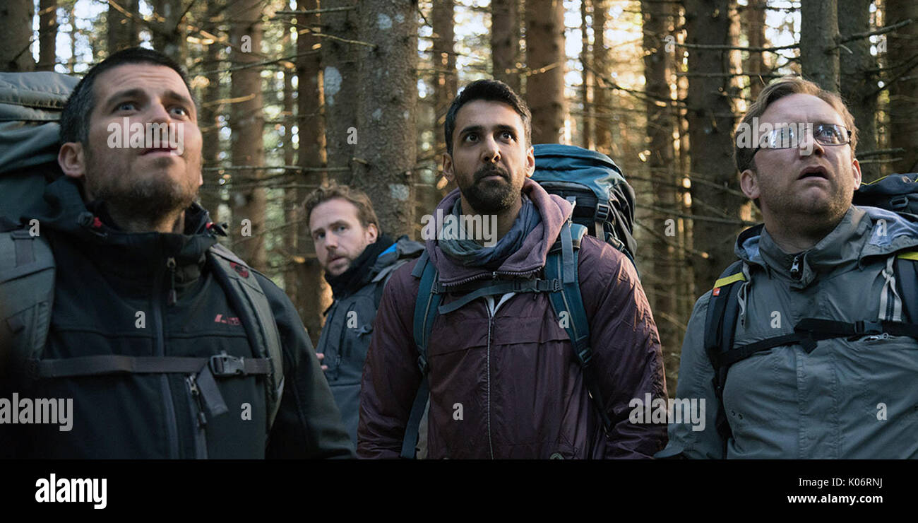 The Ritual is a new horror film directed by David Brucker based on the novel by Adam Nevill and produced by Andy - Stock Image