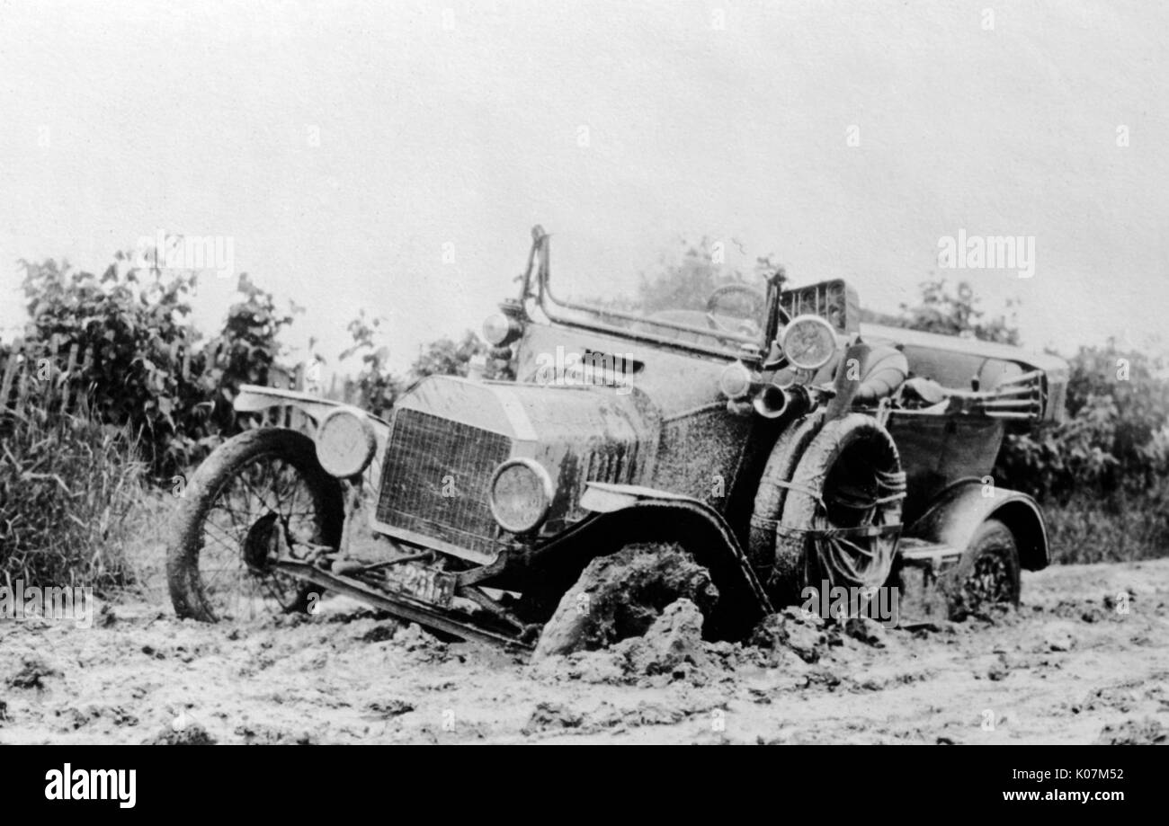 Mud Truck 1920 : Car stuck stock photos images alamy