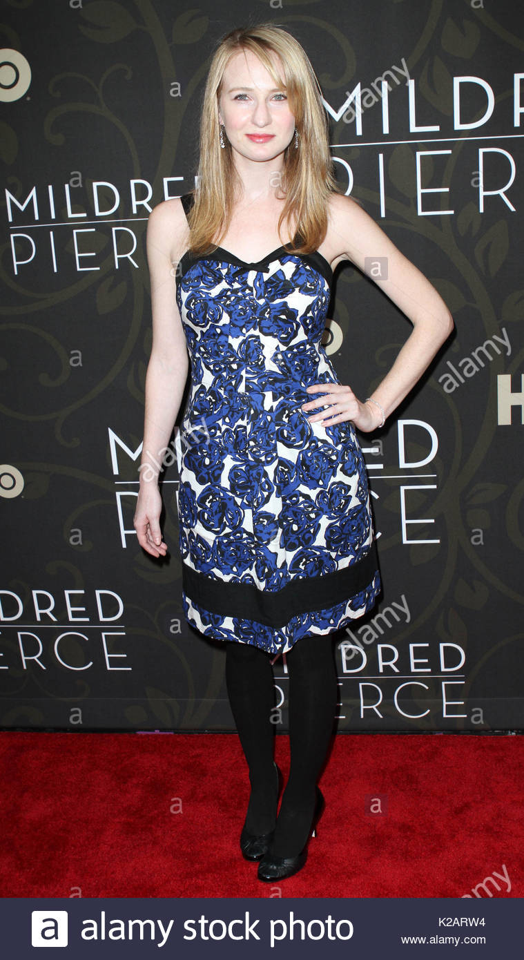 Halley Feiffer. Celebrity arrivals to the 'Mildred Pierce' Premiere in NYC. - Stock Image