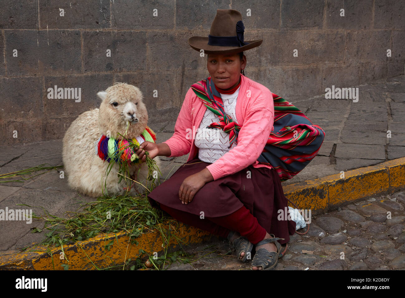 Alpaca Clothing, Peru Stock Photos & Alpaca Clothing, Peru ...