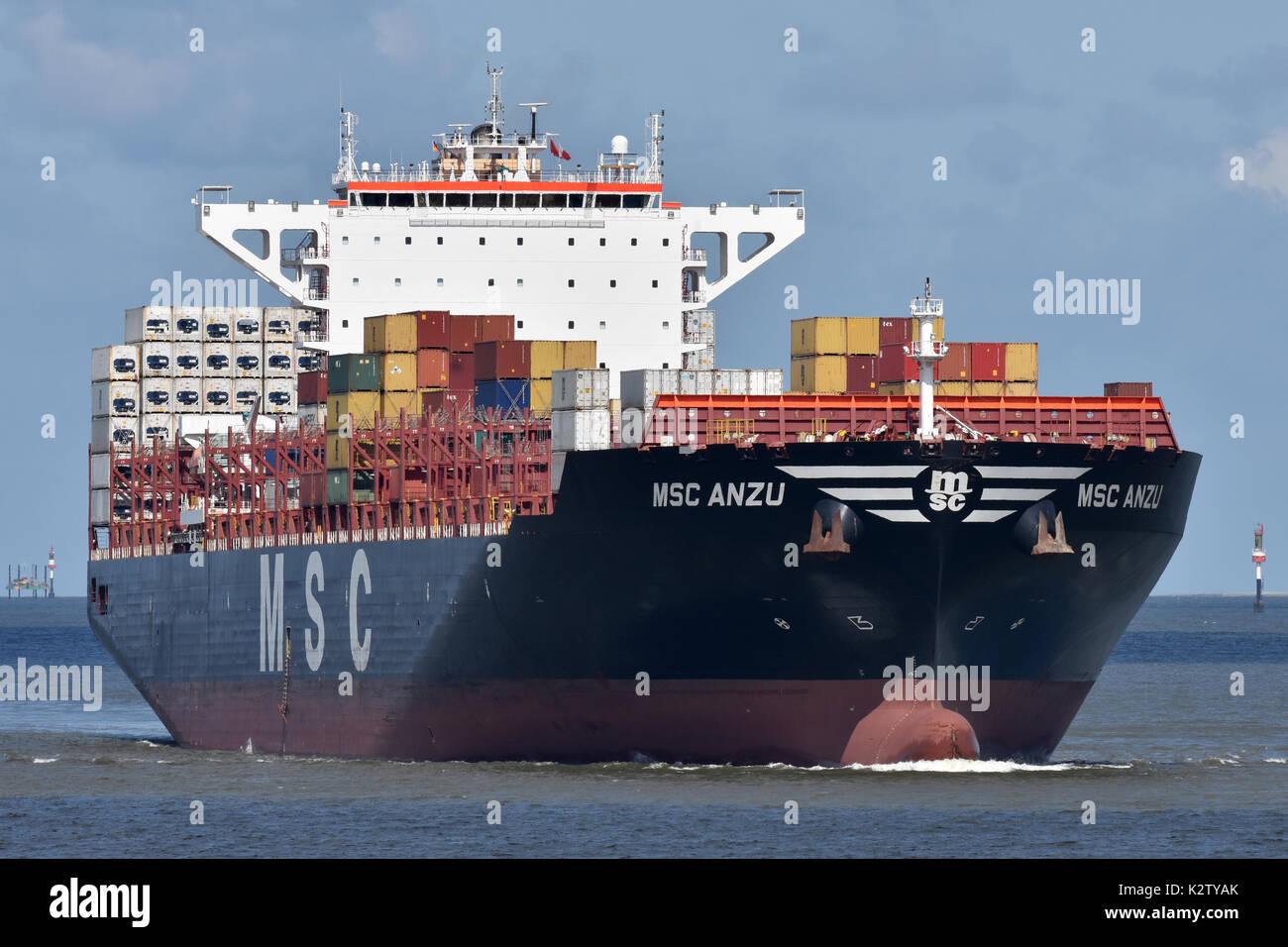 MSC Anzu - Stock Image