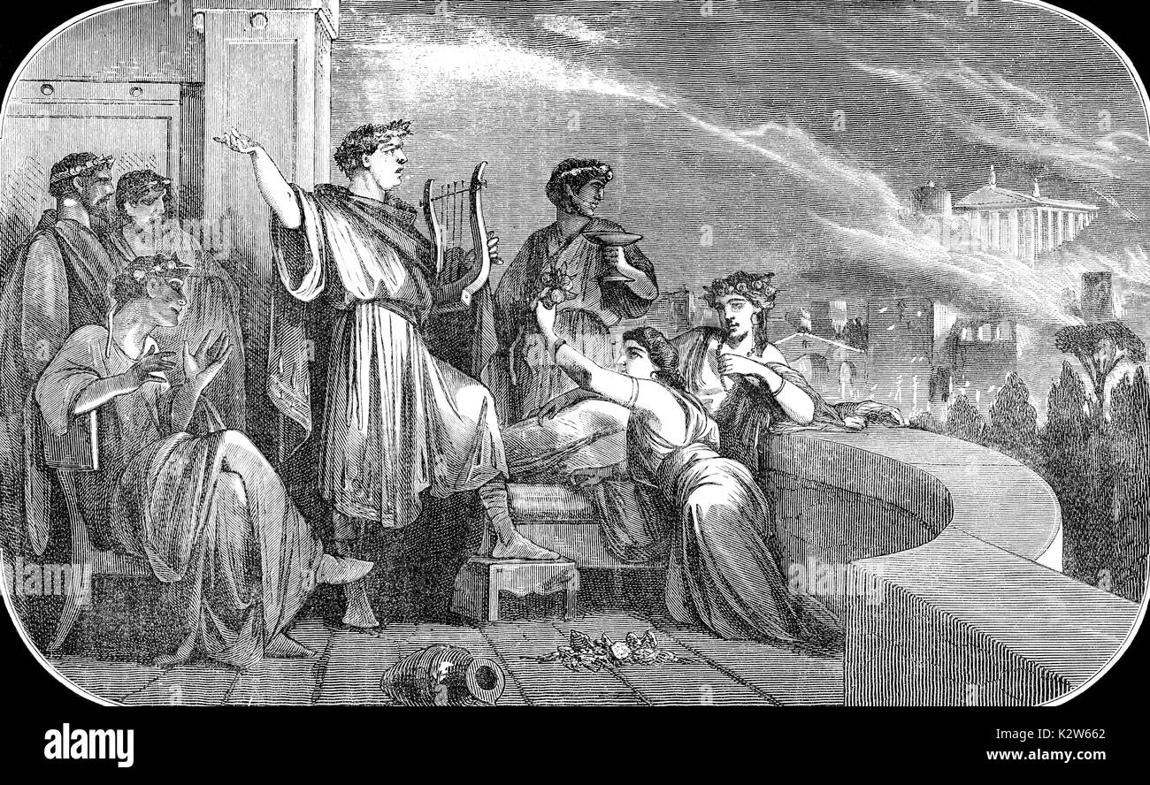 an analysis of the fire set by nero in the city of rome in ad 64 The great fire of rome clues and evidence  art historian eric varner says it seems unlikely that nero would have started the great fire of ad 64, because it destroyed his palace, the domus.