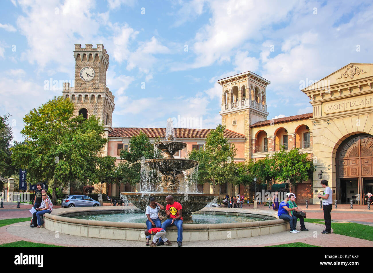 Montecasino Leisure & Casino Complex, Fourways, Sandton, Johannesburg, Gauteng Province, Republic of South Africa - Stock Image