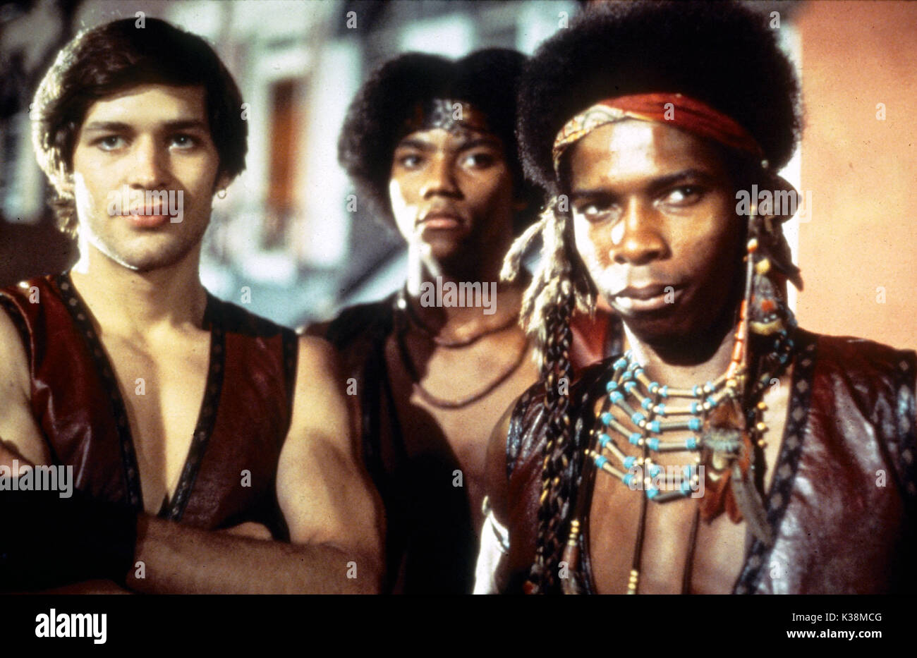 THE WARRIORS JAMES REMAR, BRIAN TYLER, DAVID HARRIS     Date: 1979 - Stock Image