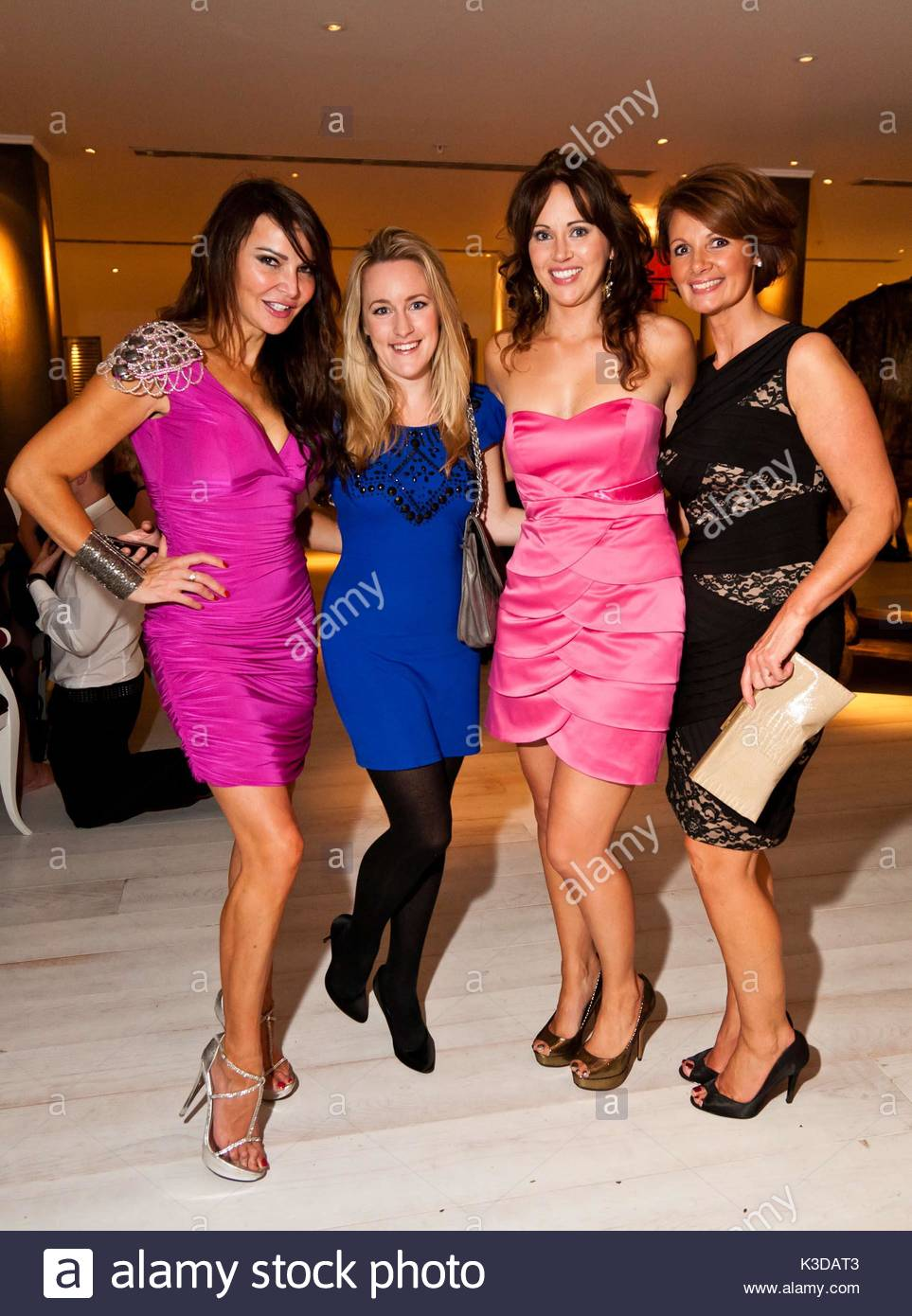 katie banks, lizzie cundy and guests. various celebrities attended