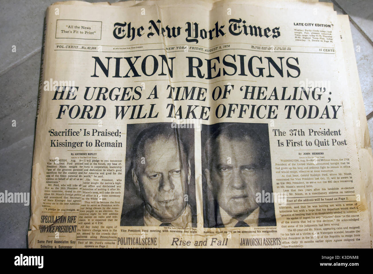 Unusual Awesome Richard Nixon Resignation Letter Download ...
