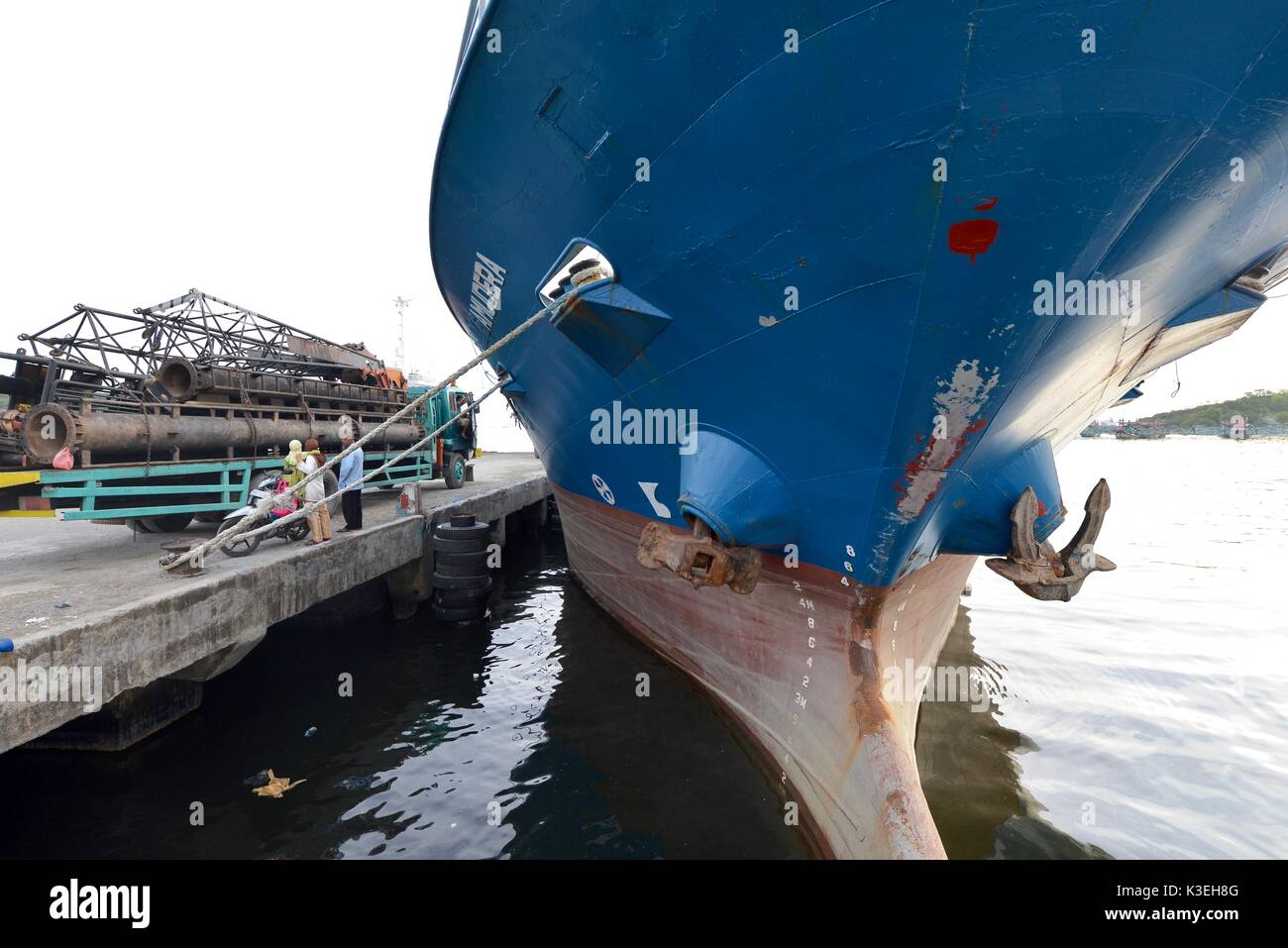 Commercial Shipping - Stock Image