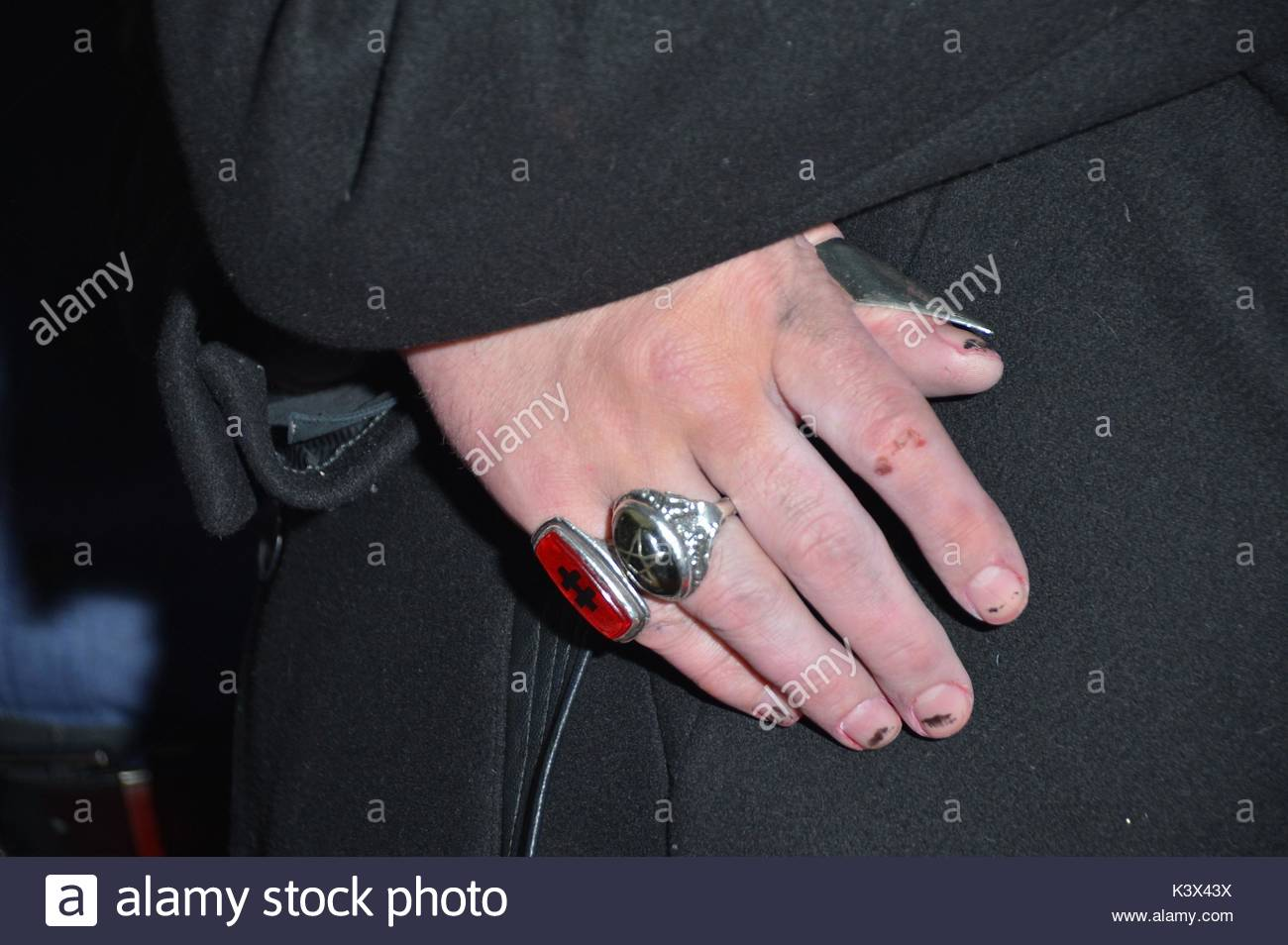 Marilyn Manson. Marilyn Manson arrives at Hyde Bellagio in Las Vegas ...