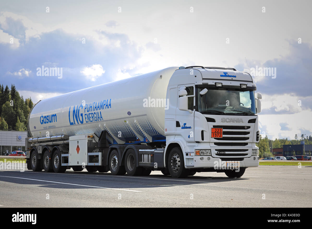 Scania Natural Gas