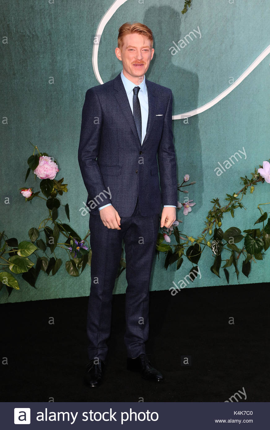 London, UK. 6th Sep, 2017. Domhnall Gleeson attends the UK Premiere of mother! at the Odeon Leicester Square on - Stock Image