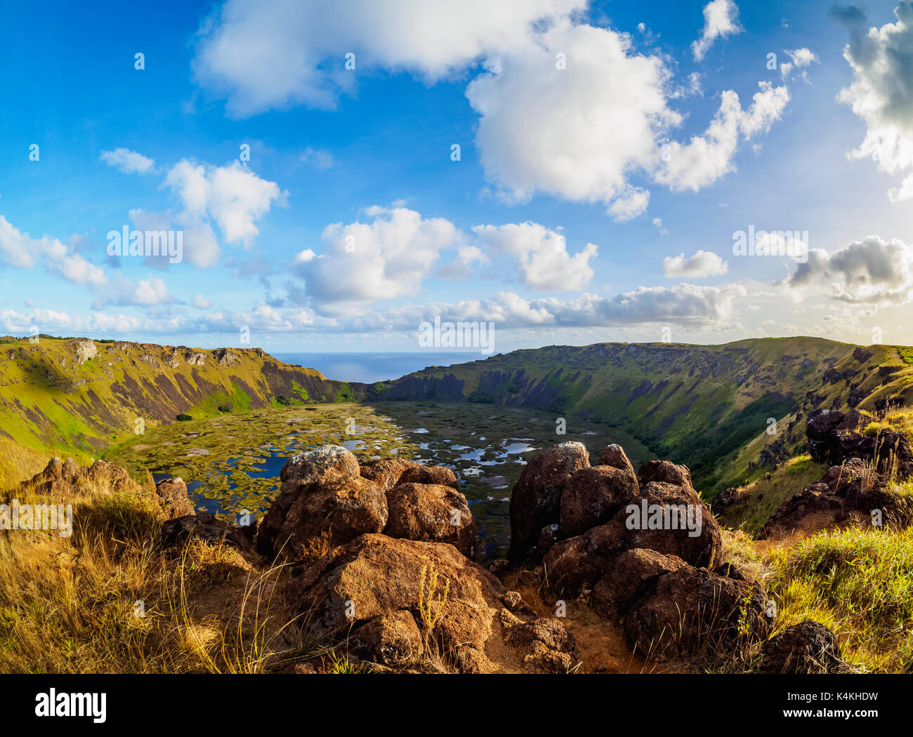 an introduction to the geography of rano kau Most of the 900 moai in the island come from the slopes of the rano raraku volcano in this unique place  rano kau rano kau has a.