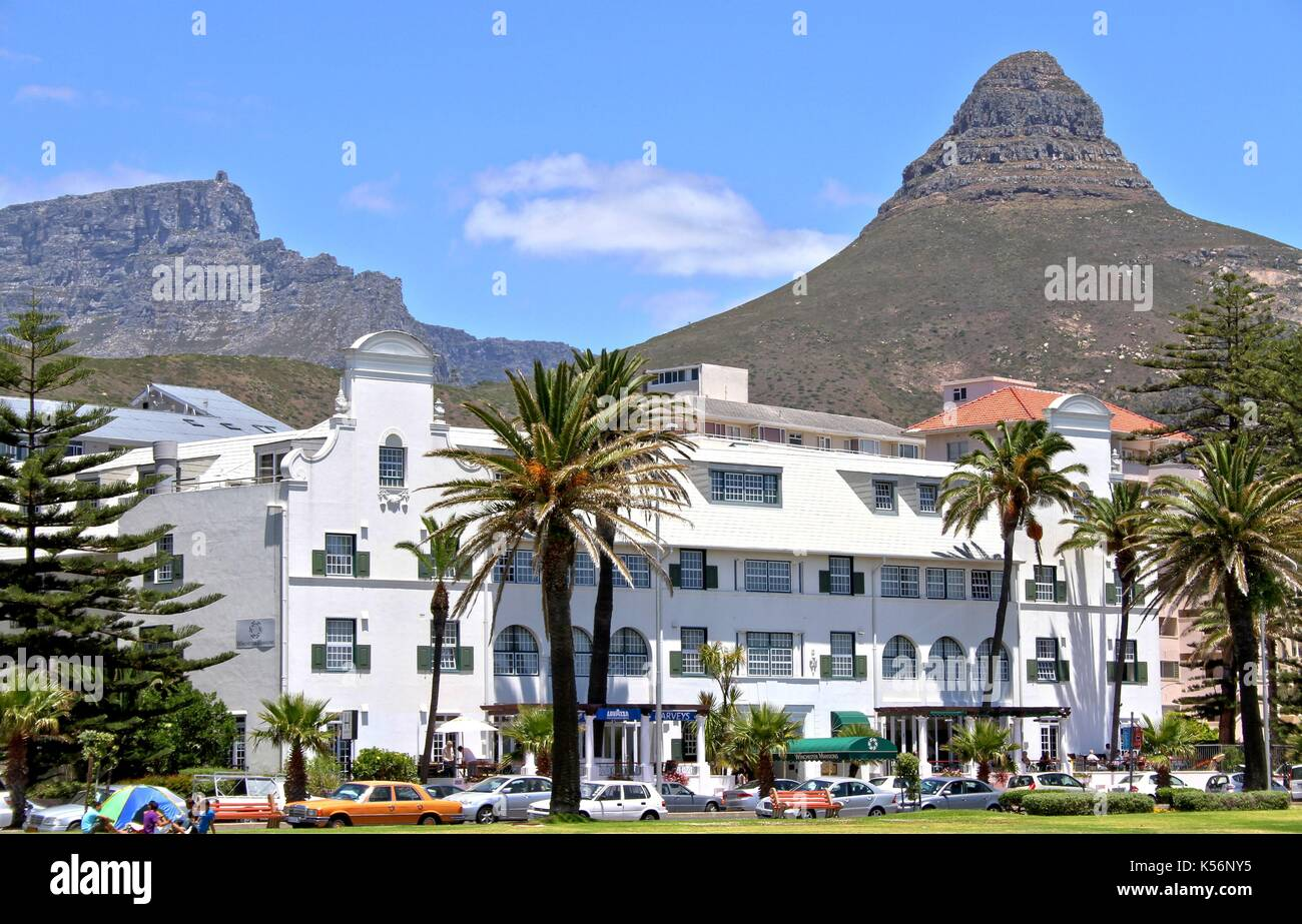 Winchester Mansions Hotel, Sea Point, Cape Town - Stock Image